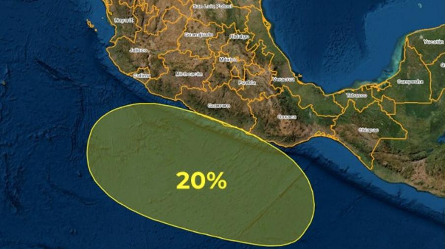 Advierten de otro posible ciclón tropical; se forma zona de inestabilidad en el Pacífico