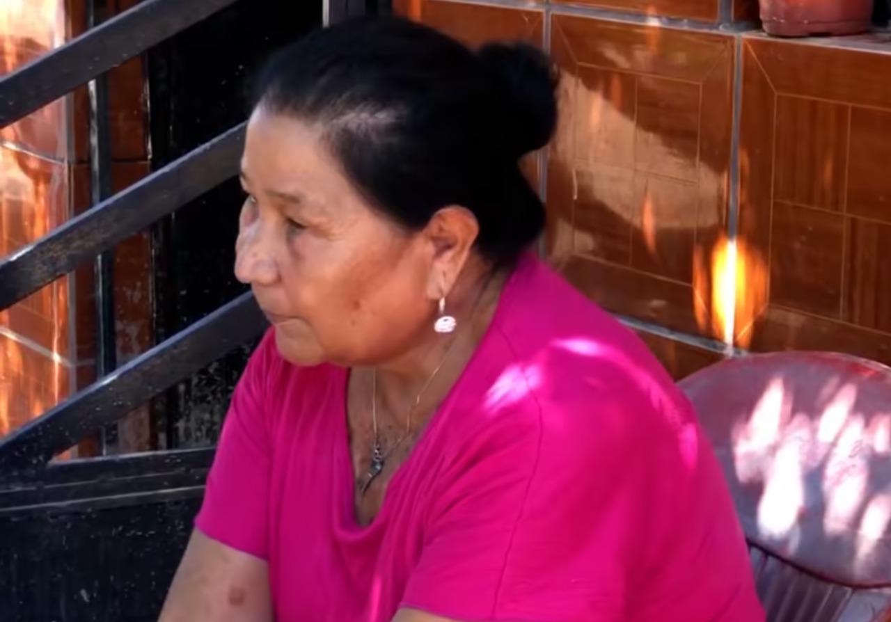 Socorro pasó dos días en el techo de su casa tras la crecida del...